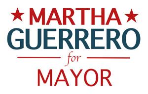 Vote Martha for Mayor