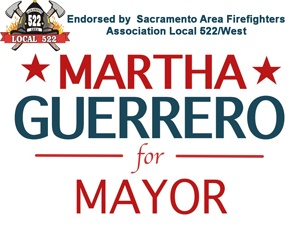 Vote Martha for Mayor